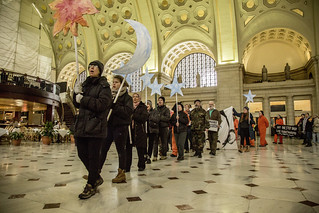 Witness Against Torture Inside Union Station