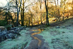 Betwys y Coed (philept1) Tags: winter wales woodland river outdoors countryside frost view path valley snowdonia footpath conwy afon llugwy betwys