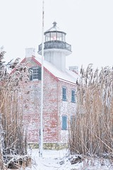 East Point Lighthouse , Heislerville, NJ (Dante Fratto Photography) Tags: winter lighthouse snow lighthouses blizzard eastpointlighthouse wwwdantefrattophotographycom wwwdantefrattocom