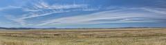 Lake George and Capital Wind Farm (Arcus Cloud) Tags: sky panorama cloud clouds landscape landscapes pano panoramas australia bluesky panoramic lakegeorge hills skyandclouds australianlandscape hdr act windturbine windfarm renewable cirrus windpower renewableenergy windturbines ptgui highcloud photomatix powergeneration cleanenergy hdrphotography skyandcloud hdrpanorama australianlandscapes hdrlandscapes hdrlandscape capitalwindfarm