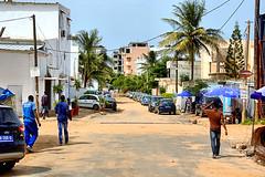 Street in Ngor (EmperorNorton47) Tags: africa street autumn fall digital photo afternoon strangers suburb senegal avenue ngor