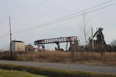 Steel Mill, Warren, OH (joseph a) Tags: ohio crane steel warren blastfurnace steelmill arcelormittal republicsteel warrensteel