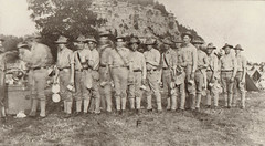 Company F Troops, Probably at Camp McCoy