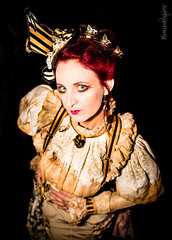 Shabby Chic Elegance (SoulStealer.co.uk) Tags: november portrait holland netherlands costume arnhem emporium alternative steampunk 2015 soulstealer vernesque