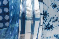 close up () Tags: indigo craft melbourne workshop dye dyeing shibori sonya7  sel35f28z