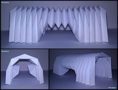 Paper Barrel Vault Architecture Origami Folding V3 (NeoSpica / NeoLiveArt) Tags: roof art geometric architecture paper artwork origami handmade drawing decorative patterns side barrel craft accordion structure homemade pavilion vault fold decor parallel tessellation corrugated folding pleated entrances miura pleating rigid waterbomb parametric collapsible pleat paperfold miuraori papersculptures rigidfoldable corrugationfold