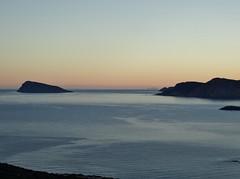 Dawn at Mirabello bay. (Ia Löfquist) Tags: sea sunrise walking dawn hiking walk kreta hike crete hav vandring soluppgång gryning vandra