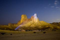Illuminated (g.aftermath) Tags: light art night long exposure desert sony sigma saudi arabia riyadh paining 19mm a6000