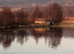 Abandoned Boat House (Andrew Paul Watson) Tags: house reflection sunrise boat britain lee fujifilm loch filters boathouse moray lochan morayshire xt1 tutach