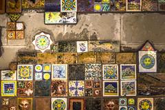 Life in Riomaggiore (Johan.Gerhardsen) Tags: travel italy art colors stone europe colours cinqueterre tablet interrail riomaggiore 2015