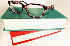 Read   27/366 (Cassidy Jade) Tags: glasses books stillife 366 366project day27366 cy365 366the2016edition 3662016 27jan16