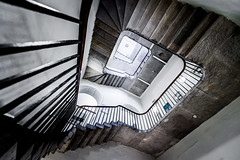 The Stamp Stair (Sean Batten) Tags: city england urban london architecture stairs spiral nikon unitedkingdom staircase somersethouse gb d800 1424 stampstaircase