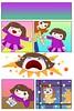 a visit from a little girl (nada.musleh) Tags: girl angry cry upset بنت حزن illustraiton رسم بكاء غضب ندىمصلح nadamusleh