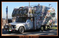Obsessive Collection Disorder (goldtrout) Tags: ca truck sandiego calif camper shelterisland luna16