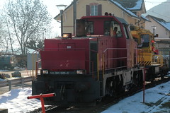 SBB Diesellokomotive Am 841 025 - 0 ( Hersteller Lokomotive GEC Alstom - Inbetriebnahme 1997 ) am Bahnhof Chambrelien im Kanton Neuenburg - Neuchâtel der Schweiz (chrchr_75) Tags: christoph hurni schweiz suisse switzerland svizzera suissa swiss chrchr chrchr75 chrigu chriguhurni januaur 2016 hurni060708 hurni051012 hurni080426 bahn eisenbahn schweizer bahnen zug train treno albumsbbdiesellokomotiveam841 sbb cff ffs diesellokomotive am 841 albumbahnenderschweiz juna zoug trainen tog tren поезд lokomotive паровоз locomotora lok lokomotiv locomotief locomotiva locomotive railway rautatie chemin de fer ferrovia 鉄道 spoorweg железнодорожный centralstation ferroviaria triebfahrzeug thermisch