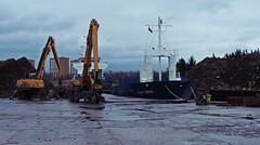 Flex Emden (Bricheno) Tags: yard river scotland dock ship escocia christie scrapyard scrap szkocja renfrew simons schottland clydebank scozia cosse  esccia  lobnitz  bricheno simonsandlobnitz simonslobnitz scoia flexemden
