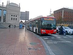 TMB #6321 in GranVia de Les Corts Catalanes (AlebusITALIA) Tags: autobus bus tram trasporti trasportipubblici tpl mobilit transportation publictransport tmb barcellona barcelona castrosua articulatedbus busarticolato bendybus busarticulado gelenkbus autobuses cngbus gasnaturalfenosa busdegaz busametano autosnodato irisbus iveco cityclass