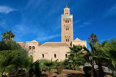 La Koutoubia Mosque (sampollittphoto) Tags: africa sky history architecture ancient minaret muslim islam religion culture mosque historic morocco marrakech historical marrakesh islamic lakoutoubia