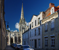 In Carentan (davidpemberton78) Tags: church architecture gothic c15 manche carentan bassenormandie