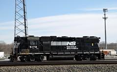 In all her glory (Conrail1978) Tags: railroad yard train ns norfolk engine loco southern pa hood hi sou harrisburg unit emd gp382 5178