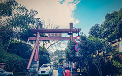 Going To The Tea Valley - Hangzhou, China (, ) (dlau Photography) Tags: life china city trip travel vacation people weather village tea outdoor sightseeing entrance lifestyle style tourist valley hangzhou   visitor      longjing