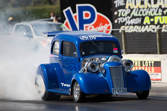 Twin turbo (Jarod Carruthers) Tags: ford race drag twin 1954 racing auckland turbo invasion motorsport masterton 2016 motorplex ihra 103e