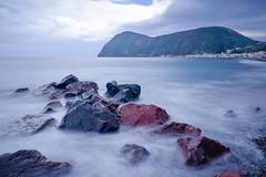 Lipari (MICTLAN + ART) Tags: beach strand meer mediterraneo mare shore sicily sicilia eolie lipari sizilien inseln mittelmeer isole canneto insen liparische olische