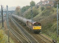 58016 at Ipswich (tibshelf) Tags: ipswich ews class58 58016