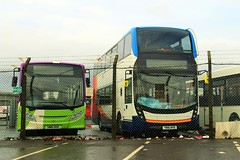New ADL buses (busmanscotland) Tags: buses kent south ad east 400 200 alexander dennis mmc e200 stagecoach ipswich sania enviro adl ogh wvb yn16 sn16 yn16wvb sn16ogh n250ud
