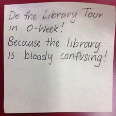 Bloody confusing (thompsoe) Tags: payitforward uniadvice advicefromstudents