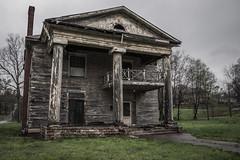 (Rodney Harvey) Tags: urban house abandoned birmingham decay alabama columns eerie creepy spooky plantation antebellum