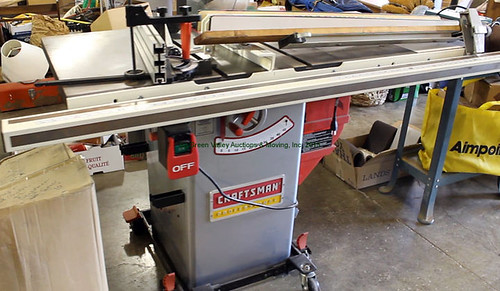 Craftsman Table Saw - $467.50 (Sold April 24, 2015)