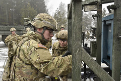 RES MICLIC, Mar. 2-3, 2016 (2d Cavalry Regiment) Tags: uk training germany buffalo europe exercise unitedkingdom troopers soldiers rocket launch gta res range nato engineers usarmy teamwork tactical sapper dragoons vilseck alphatroop 2cr britishsoldiers usareur strykers grafenwoehr theunitedkingdom jmrc livefireexercise rosebarracks mclc grafenwoehrtrainingarea 2dcavalryregiment mineclearinglinecharge regimentalengineersquadron