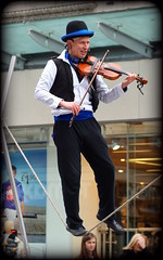 Slacklining violinist (* RICHARD M) Tags: street musician liverpool portraits action candid performance rope entertainment violin portraiture streetperformer entertainer busker performer busking violinist streetentertainer merseyside streetportraits slacklining seeingisbelieving capitalofculture musicmaking streetportraiture multitalented candidportraits europeancapitalofculture candidportraiture ropewalker ropewalking slackliner cityofmusic unescocityofmusic maritimemercantilecity muscmaker