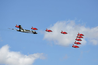Red Arrows & Vulcan