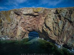 Perce Rock Sea Arch (Adam Woodworth) Tags: seaarch perce rockformation drone percerock gaspepeninsula phantom3pro