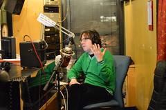 WFMU Marathon 2016-Dave Hill in WFMU Studio B (irene_trudel) Tags: davehill wfmu irenetrudel 911fm wfmumarathon