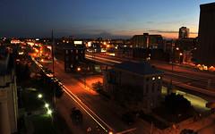 S. Brook Street (John Adkins II) Tags: longexposure night downtown kentucky louisville lighttrails brookstreet graystreet louisvillekentucky nikond700 nikon247028