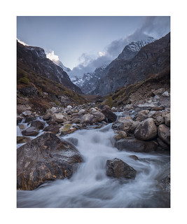 Near Badrinath, Garhwal, Indian Himalaya