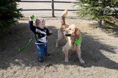 20160320_0027 (Troy Bourque) Tags: family people canada green kids spring alberta northamerica roper westerncanada prairieprovinces kidandhisdog