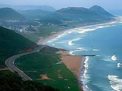 Beautiful  beach # Visakhapatnam #Andhra  pradesh ;India . (prabhakar_chaganti) Tags: andhra