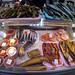 Peixes defumados, secos e caviar