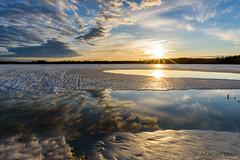 750_1671-Edit (Photographer Atacan Ergin) Tags: sunset lake clouds reflections järvi auringonlasku lapinlahti heijastus heijastukset