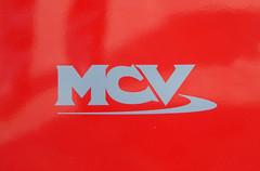 MCV BADGE - GAL EHV REAR BADGE (Bexleybus) Tags: new bus london buses ahead volvo garage go badge egyptian belvedere bv etb mcv goahead evoseti