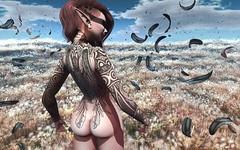Fantasy Gacha Carnival - [Demonic] Valkyrie and Bandit Tattoo (clau.dagger) Tags: fashion tattoo style fantasy secondlife demonic alternative gacha thefantasygachacarnival fgc201605