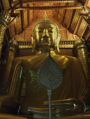 Big Buddha of Ayutthaya. Thailand. (Alex Eidlin) Tags: travel thailand temple buddha religion buddhism indoors architcture serene