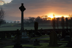 Daresbury sunrise 01 mar 16 (Shaun the grime lover) Tags: church sunrise landscape spring warrington memorial tombstone gravestone churchyard daresbury