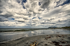 Ocean and clouds (Usstan) Tags: ocean sea sky seascape beach water norway clouds lens landscape norge sand nikon couple day waves outdoor no sigma wideangle serene westcoast locations sunnmre mreogromsdal ulstein fl d7100 816mm