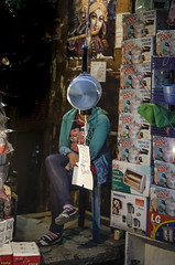Ms. Cooker! (Mali) Tags: street portrait people streets girl shop lady night shopping 50mm shimla nikon candid ngc cook streetphotography streetlife himalaya juxtaposition cooker himachal himalayas roi shopkeeper streetside rootsofindia lingeswaran nikond7000 121clicks malishots