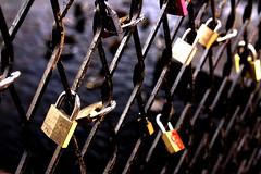 love (dahlstrom.sara) Tags: life bridge art love sign loving happiness locker together forever